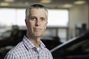 Tim Richard : Parts Manager